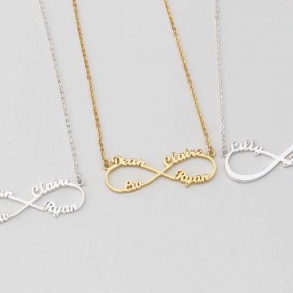 Infinity Symbol Necklaces Infinity Necklace Eternity Necklace